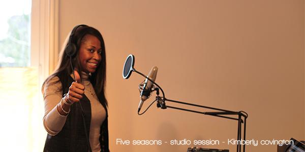 studio session Kimberly
