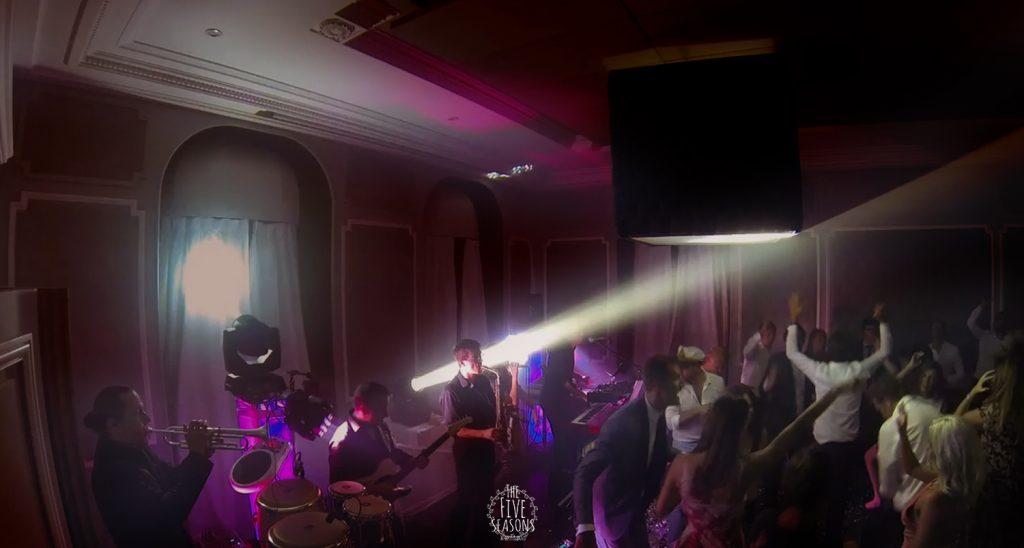 Palace de Menthon mariage - Five seasons Live band - party