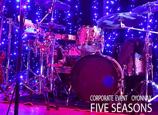 Five seasons Live band . groupe musique mariage, musicien mariage , groupe musique.Team bulding - Corporate event music .