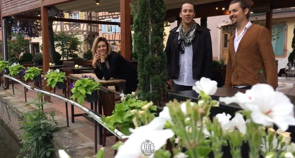 Colmar mariage - Jean yves Schillinger - Five seasons live band lyon - l'équipe arrive sur place