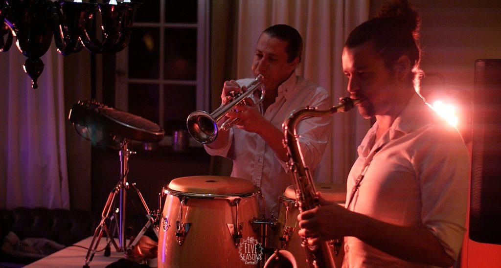 Colmar mariage - Jean yves Schillinger - Five seasons live band lyon soirée impro sax trompette