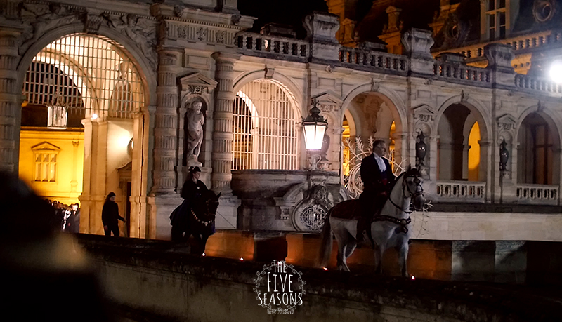Five seasons wedding band  - Mariage au chateau de Chantilly parade chevaux