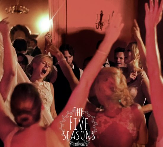 norvegian party in france - five seasons live band