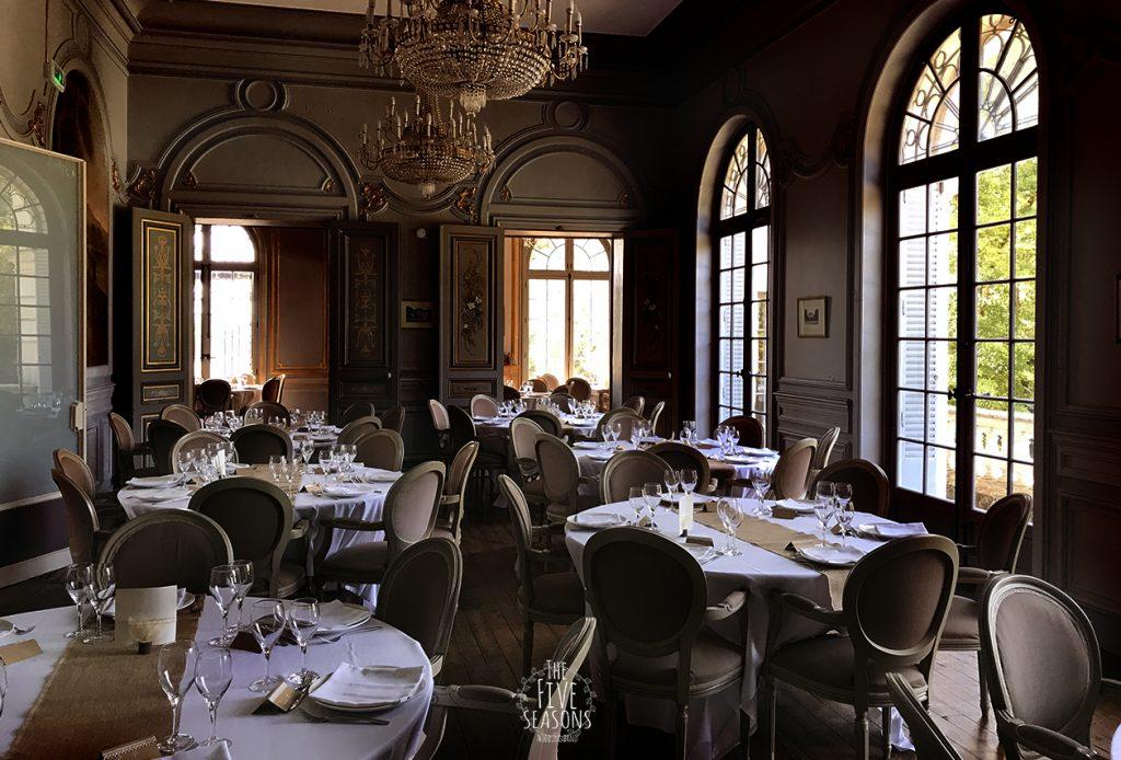 Chateau La Canière mariage - Five seasons Lyon - salons