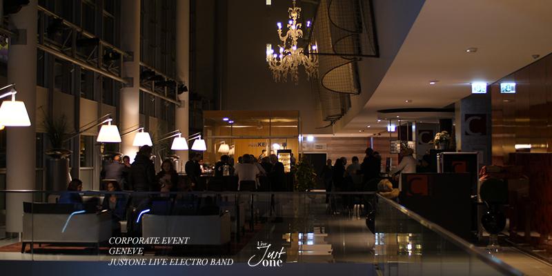 live electro band Geneva - Five seasons au Starling - Corporate event