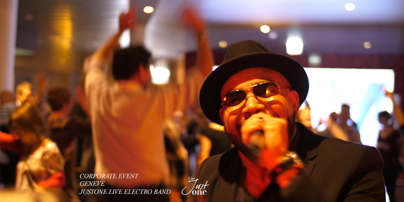 Steven gregory - Live electro band five seasons - starling geneva