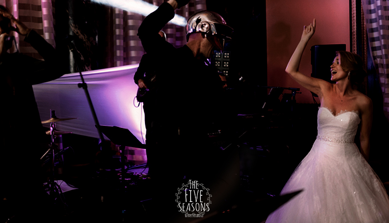 mariage Vevey - Daft punk party - Five seasons Live band