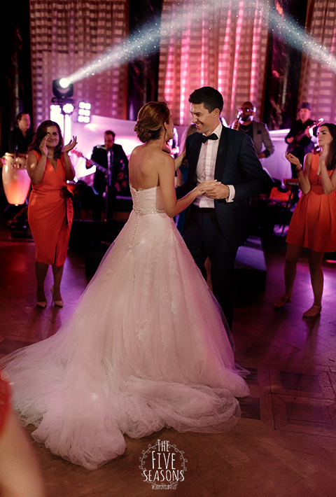 orchestre mariage Vevey - Five seasons orchestre (liveband) pour mariage de prestige - Palace et Hotel luxe piste de danse